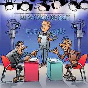 grand débat télévisé
