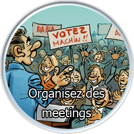 Organisez des meetings