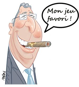 caricature Balkany